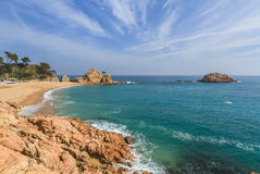 Tossa de Mar, Spain Stock Photo