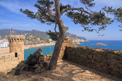 Tossa de Mar, Spain Royalty Free Stock Images