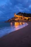 Tossa de Mar in Spain Stock Image
