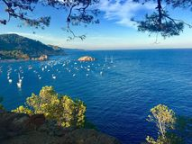 Tossa de Mar Spain royalty free stock images