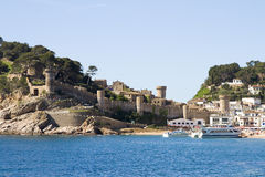 Tossa de Mar Stock Photography