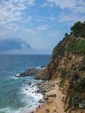 Tossa de Mar in Spain Stock Photos