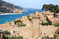 Tossa de Mar Spain Royalty Free Stock Photography