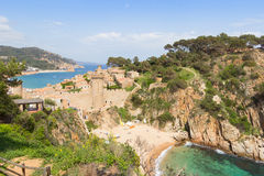 Tossa de Mar Spain Royalty Free Stock Photos