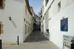 Tossa DE Mar, Spanje stock foto