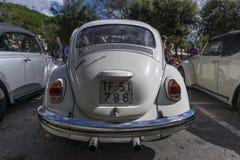 Tossa DE Mar, Spanje 17 september, 2016: Uitstekende Volkswagen-kever in het 23ste Volkswagen-schrijvers uit de klassieke oudheid Royalty-vrije Stock Afbeeldingen
