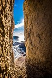 Tossa de Mar su Costa Brava, Catalogna, Spagna Fotografia Stock Libera da Diritti