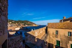Tossa de Mar su Costa Brava, Catalogna, Spagna Immagine Stock Libera da Diritti