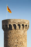 Tossa de Mar Tower Royalty Free Stock Photo