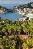 Tossa de Mar Town on Costa Brava Royalty Free Stock Photos