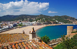 Tossa de Mar urban view. Stock Photo
