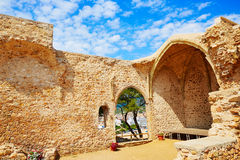 Tossa de Mar view from old church Costa Brava Royalty Free Stock Image