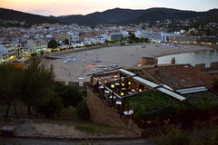 Tossa De Mar w Costa Brava, Catalonia, Hiszpania Zdjęcie Stock