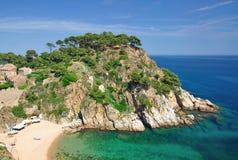 Tossa-De-Mars, côte Brava, Espagne Images libres de droits