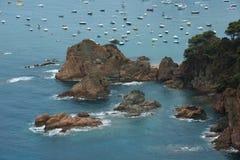 Tossa de mars, côte Brava, Espagne Photographie stock libre de droits