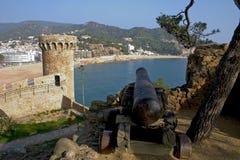 Tossa de marzo, Catalogna, Spagna fotografie stock libere da diritti