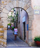 Tossa De Mrz, Katalonien, Spanien Stockfotos