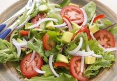 Tossed Garden Salad Stock Photos