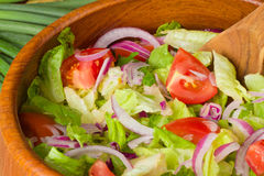 Tossed Salad Royalty Free Stock Photography