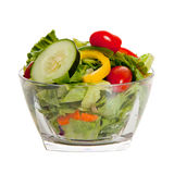 Tossed salad with various vegetables Stock Photos