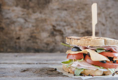 Tost sandwich Stock Image