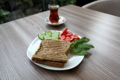 Tost Stock Image