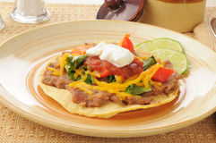 Tostada Royalty Free Stock Photos