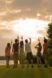 Tostada al sol Imagen de archivo