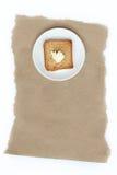 Tostada con mantequilla Imagenes de archivo