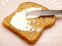 tostada con queso Imagenes de archivo