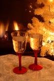 Tostada del Año Nuevo Imagen de archivo libre de regalías
