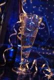 Tostada del Año Nuevo Imagenes de archivo