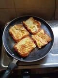Tostada del pan Foto de archivo