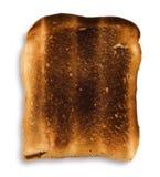 Tostada quemada Fotos de archivo libres de regalías