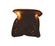 Tostada quemada Fotografía de archivo