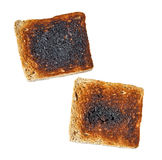 Tostada quemada Imagen de archivo