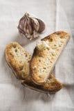 Tostadas del pan de ajo imágenes de archivo libres de regalías