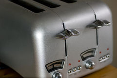 tostadora retra de 4 rebanadas Imagen de archivo libre de regalías