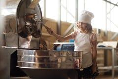 Tostadores de café divertidos Fotografía de archivo