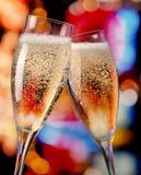 Tostatura di Champagne Immagini Stock