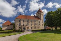 Tosterup castle Sweden. Image of Tosterup medieval castle in Skane, Sweden Royalty Free Stock Images