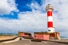 Toston Lighthouse - El Cotillo,Fuerteventura,Spain Stock Photo