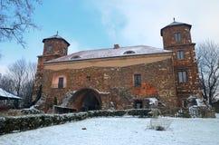 Toszekkasteel in Polen Stock Foto's