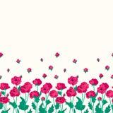 Tot bloei komende anemonen Royalty-vrije Stock Afbeelding