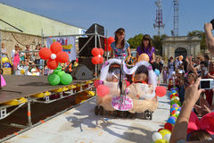 Tot parade Royalty Free Stock Photo