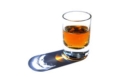 Tot of rum Royalty Free Stock Image