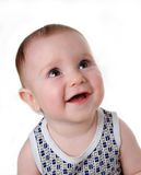 Tot smiles. Small merry boy, good strong family stock images
