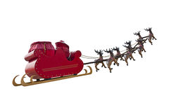 Tot ziens Santa Claus Stock Foto