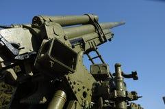 Tot zwijgen gebracht kanon Royalty-vrije Stock Afbeeldingen