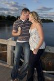Totaal in liefde Royalty-vrije Stock Foto's
